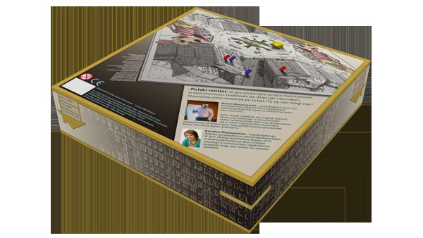 Spód pudełka gry